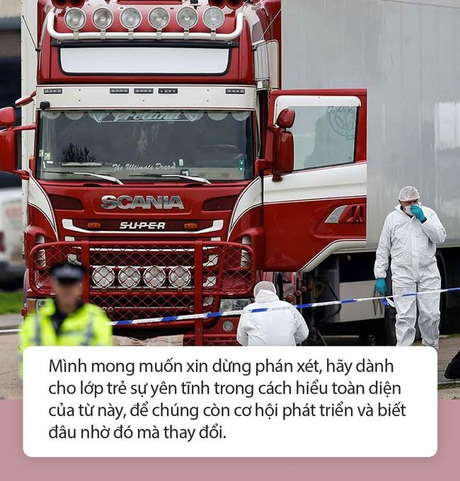 """Mẹ Nhật Nam: Từ vụ 39 người tử vong trên xe container, """"Chúng ta có thấy trong họ có… chính mình"""" - Ảnh 4."""
