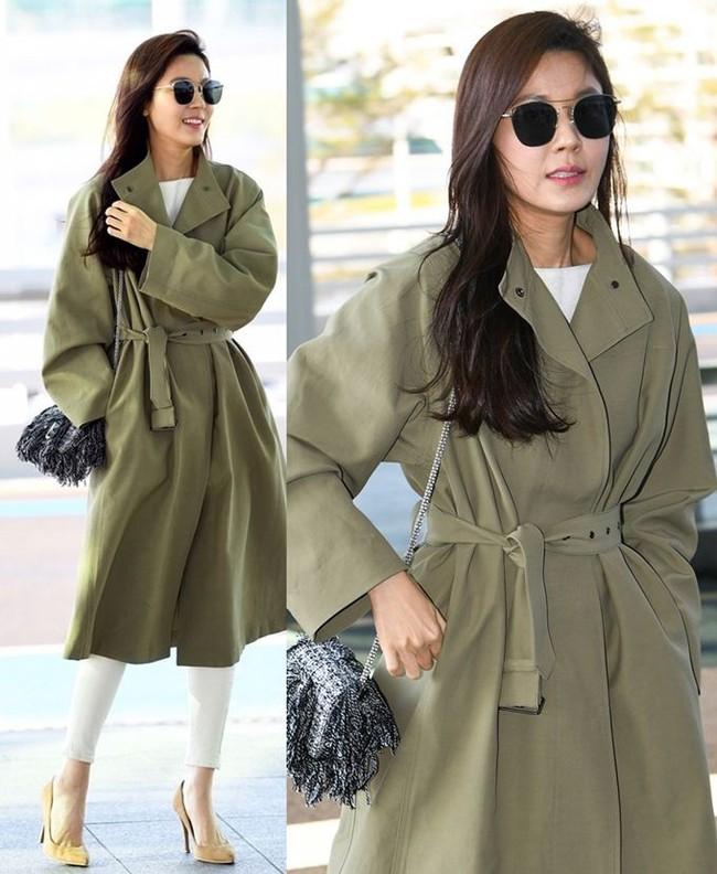 street style trench coat - Ảnh 7.