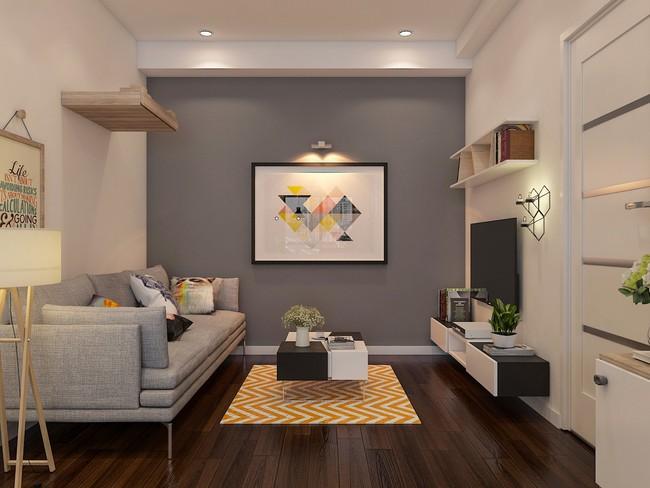 Tư vấn thiết kế căn hộ chung cư diện tích 47m2 đã ở được 5 năm cho cán bộ nhân viên nhà nước với chi phí 100 triệu đồng - Ảnh 7.