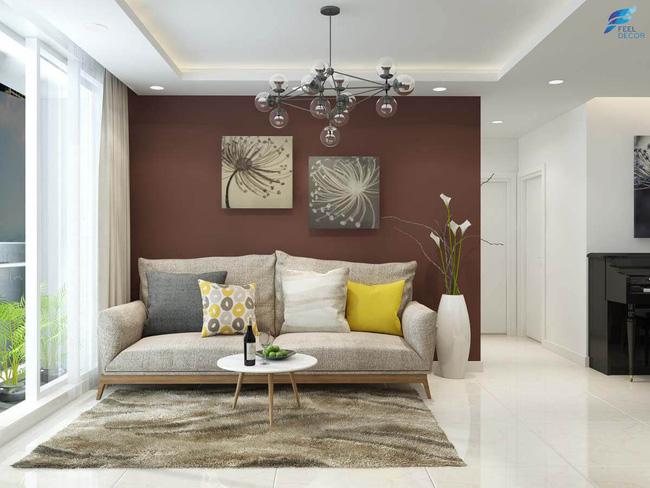Tư vấn thiết kế căn hộ chung cư diện tích 47m2 đã ở được 5 năm cho cán bộ nhân viên nhà nước với chi phí 100 triệu đồng - Ảnh 8.