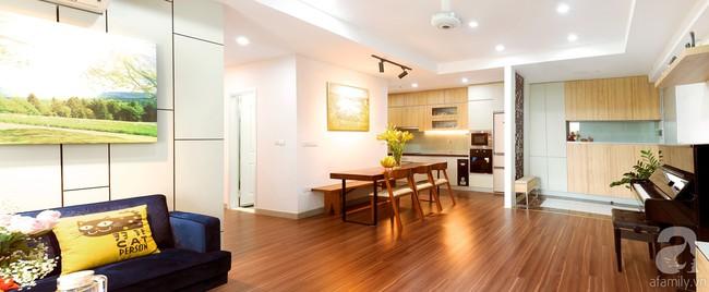 Chiêm ngưỡng căn hộ 100m2 với 3 phòng ngủ ấm áp ở chung cư Ecolife – Tây Hồ sau khi được kiến trúc sư cải tạo lại  - Ảnh 2.