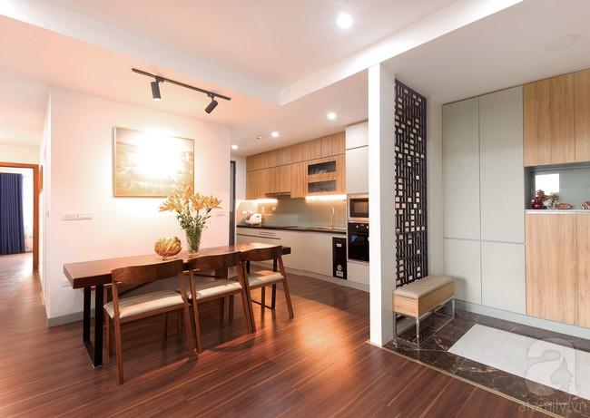 Chiêm ngưỡng căn hộ 100m2 với 3 phòng ngủ ấm áp ở chung cư Ecolife – Tây Hồ sau khi được kiến trúc sư cải tạo lại  - Ảnh 4.