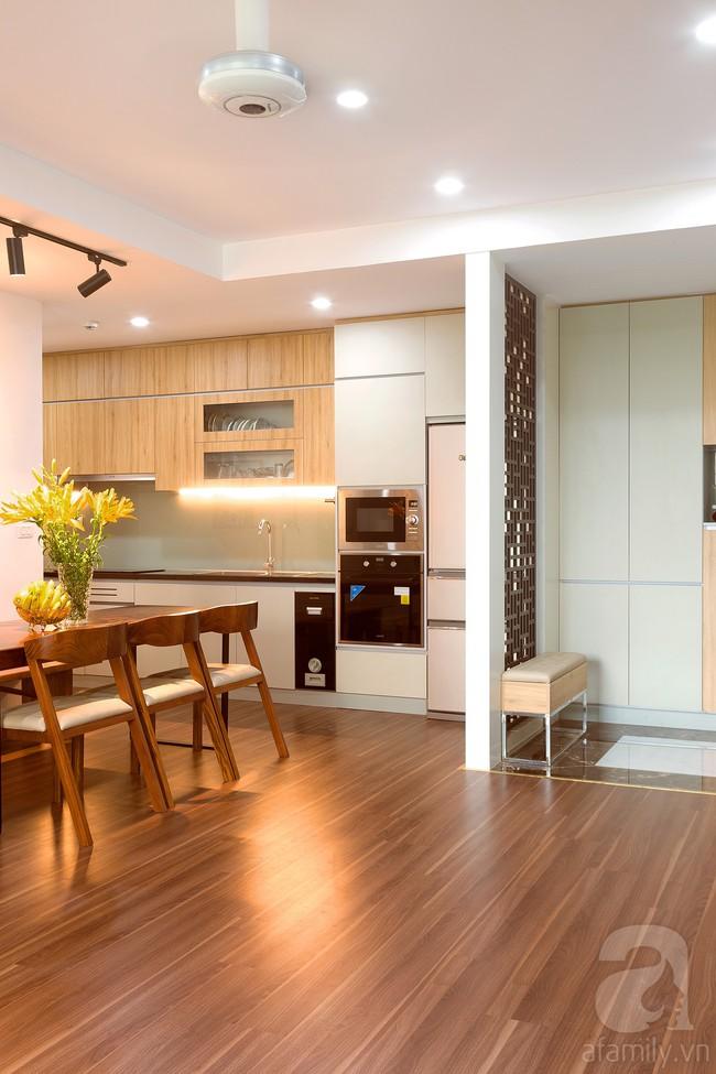 Chiêm ngưỡng căn hộ 100m2 với 3 phòng ngủ ấm áp ở chung cư Ecolife – Tây Hồ sau khi được kiến trúc sư cải tạo lại  - Ảnh 5.