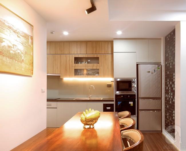 Chiêm ngưỡng căn hộ 100m2 với 3 phòng ngủ ấm áp ở chung cư Ecolife – Tây Hồ sau khi được kiến trúc sư cải tạo lại  - Ảnh 6.