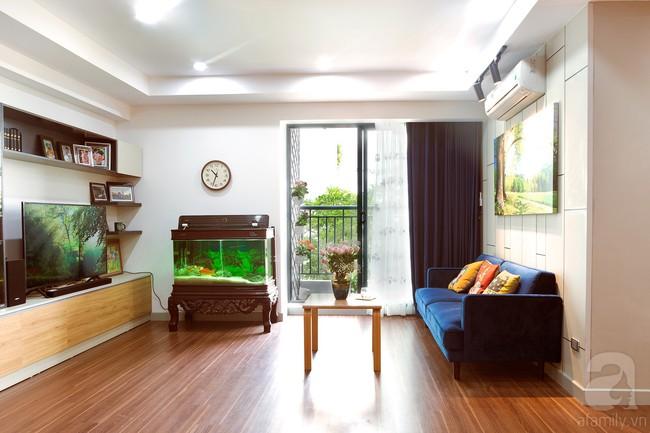 Chiêm ngưỡng căn hộ 100m2 với 3 phòng ngủ ấm áp ở chung cư Ecolife – Tây Hồ sau khi được kiến trúc sư cải tạo lại  - Ảnh 8.