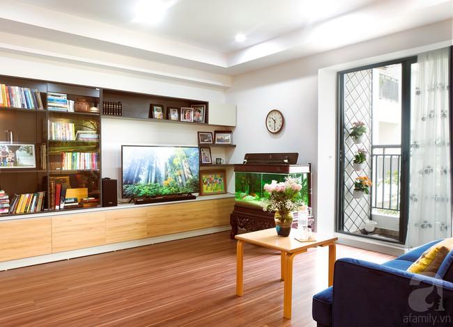 Chiêm ngưỡng căn hộ 100m2 với 3 phòng ngủ ấm áp ở chung cư Ecolife – Tây Hồ sau khi được kiến trúc sư cải tạo lại  - Ảnh 9.