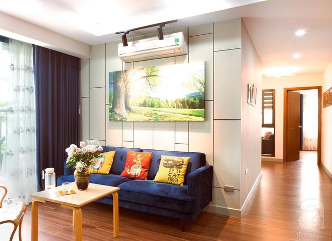 Chiêm ngưỡng căn hộ 100m2 với 3 phòng ngủ ấm áp ở chung cư Ecolife – Tây Hồ sau khi được kiến trúc sư cải tạo lại  - Ảnh 10.