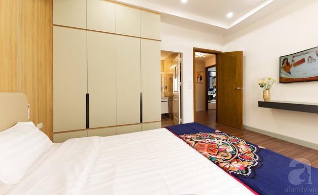 Chiêm ngưỡng căn hộ 100m2 với 3 phòng ngủ ấm áp ở chung cư Ecolife – Tây Hồ sau khi được kiến trúc sư cải tạo lại  - Ảnh 12.