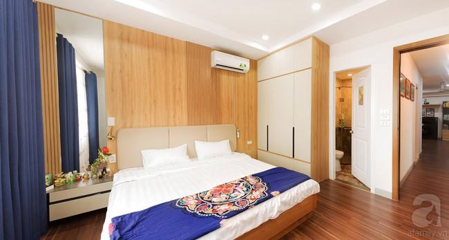 Chiêm ngưỡng căn hộ 100m2 với 3 phòng ngủ ấm áp ở chung cư Ecolife – Tây Hồ sau khi được kiến trúc sư cải tạo lại  - Ảnh 13.