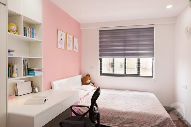 Chiêm ngưỡng căn hộ 100m2 với 3 phòng ngủ ấm áp ở chung cư Ecolife – Tây Hồ sau khi được kiến trúc sư cải tạo lại  - Ảnh 16.