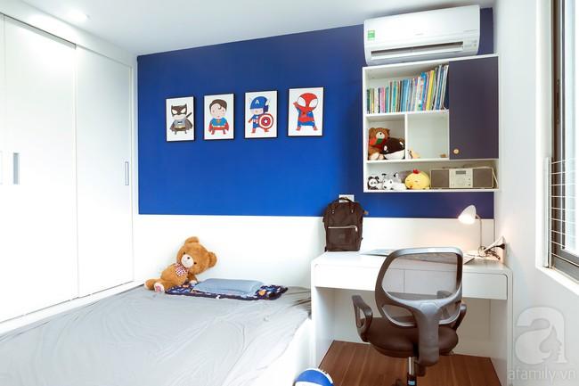 Chiêm ngưỡng căn hộ 100m2 với 3 phòng ngủ ấm áp ở chung cư Ecolife – Tây Hồ sau khi được kiến trúc sư cải tạo lại  - Ảnh 20.