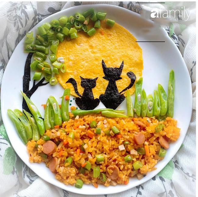 """Mẹ đảm khoe thực đơn tập ăn cơm của con với cả """"nghìn"""" món ăn được tạo hình cầu kì rực rỡ, giúp con ăn ngon thun thút không bỏ thừa tí nào - Ảnh 7."""