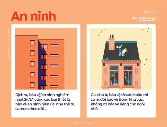 So sánh nhà chung cư và nhà mặt đất, nhà nào tốt hơn? - Ảnh 2.