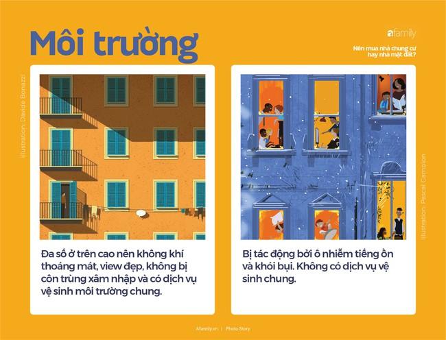 So sánh nhà chung cư và nhà mặt đất, nhà nào tốt hơn? - Ảnh 4.