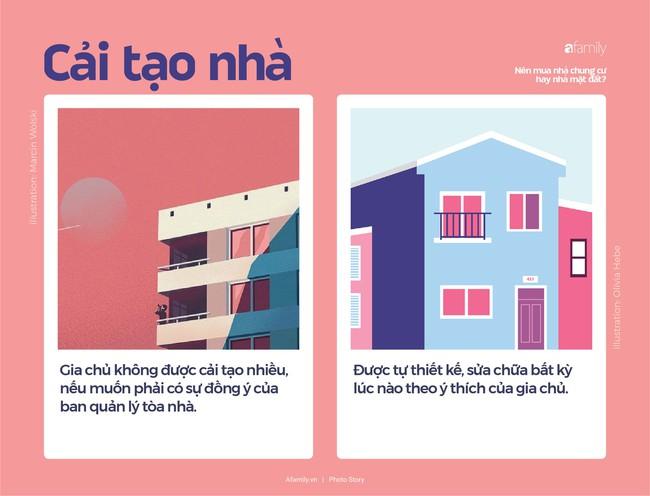 So sánh nhà chung cư và nhà mặt đất, nhà nào tốt hơn? - Ảnh 7.