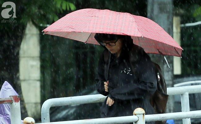 Người dân tận hưởng gì sau cơn mưa giúp không khí Hà Nội sạch hơn - Ảnh 1.