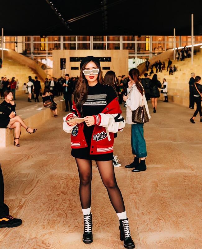 Màn hội ngộ hiếm hoi giữa rich kid Thảo Tiên và Nga Nguyễn tại show Louis Vuitton; Châu Bùi, Khánh Linh cùng xuất sắc quá đỗi - Ảnh 3.