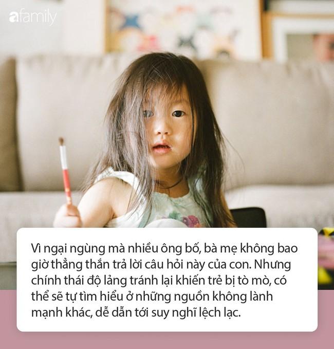 """""""Mẹ ơi, con sinh ra từ đâu"""" - câu trả lời của phụ huynh có thể ảnh hưởng tới cuộc đời của con trẻ, hãy cẩn trọng! - Ảnh 1."""