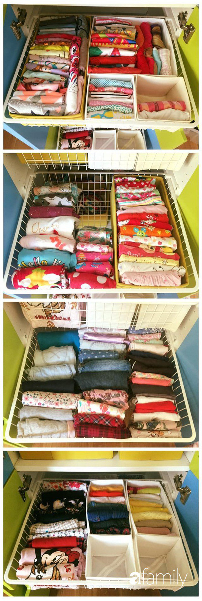 Mẹ Việt học người Nhật cách sắp xếp tủ đồ giúp nhà luôn gọn đẹp - Ảnh 3.