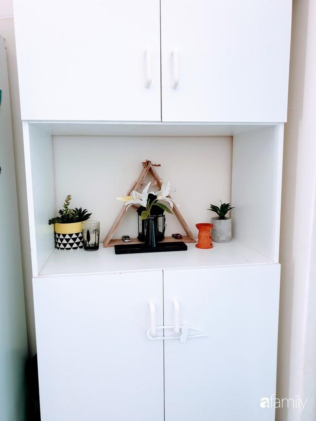 Căn bếp giản đơn, ấm cúng của mẹ trẻ yêu thích phong cách tối giản - Ảnh 6.