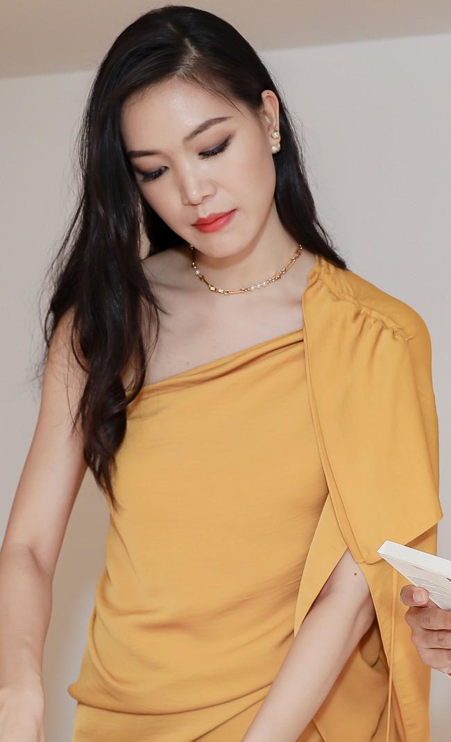 Lâu ngày tái xuất, Hoa hậu Việt Nam Thùy Dung vẫn đẹp nền nã không lẫn vào đâu được - Ảnh 3.