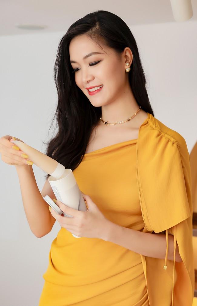Lâu ngày tái xuất, Hoa hậu Việt Nam Thùy Dung vẫn đẹp nền nã không lẫn vào đâu được - Ảnh 4.