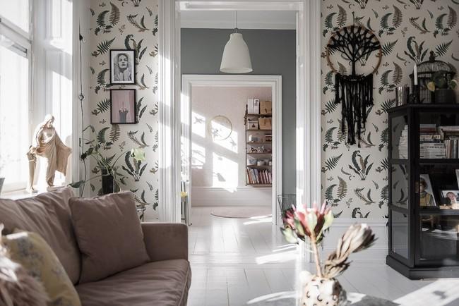 Điểm chút sắc hồng tươi sáng cho căn hộ ở Nga, thiết kế vẫn hiện lên đặc trưng nét sang trọng trong từng góc cạnh - Ảnh 11.