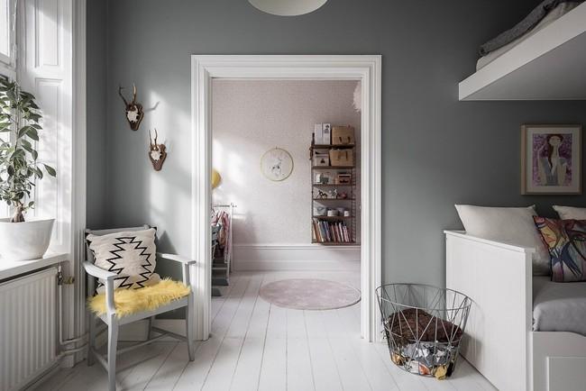 Điểm chút sắc hồng tươi sáng cho căn hộ ở Nga, thiết kế vẫn hiện lên đặc trưng nét sang trọng trong từng góc cạnh - Ảnh 12.
