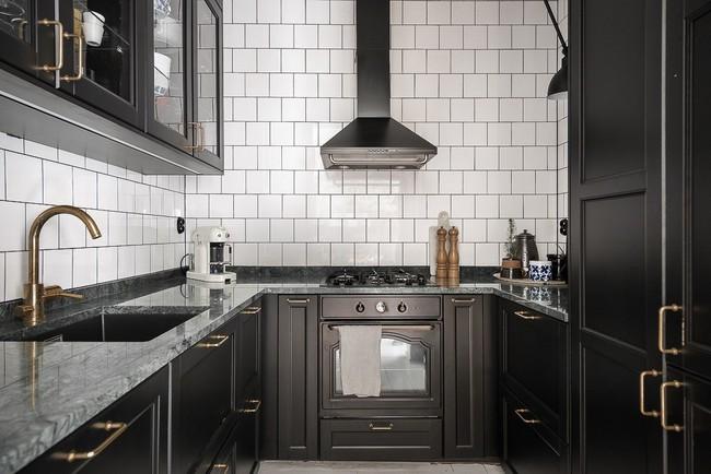 Điểm chút sắc hồng tươi sáng cho căn hộ ở Nga, thiết kế vẫn hiện lên đặc trưng nét sang trọng trong từng góc cạnh - Ảnh 3.