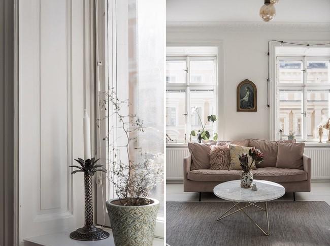 Điểm chút sắc hồng tươi sáng cho căn hộ ở Nga, thiết kế vẫn hiện lên đặc trưng nét sang trọng trong từng góc cạnh - Ảnh 6.