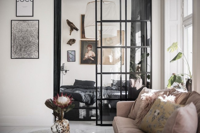 Điểm chút sắc hồng tươi sáng cho căn hộ ở Nga, thiết kế vẫn hiện lên đặc trưng nét sang trọng trong từng góc cạnh - Ảnh 7.