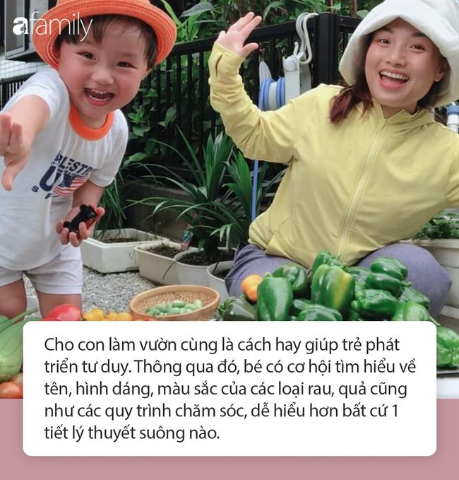 Lý do gì khiến nhóc Sa 3 tuổi ngoan ngoãn ngồi xem mẹ quay Vlog, có thể bởi cách dạy con cực khéo của Quỳnh Trần JP - Ảnh 7.