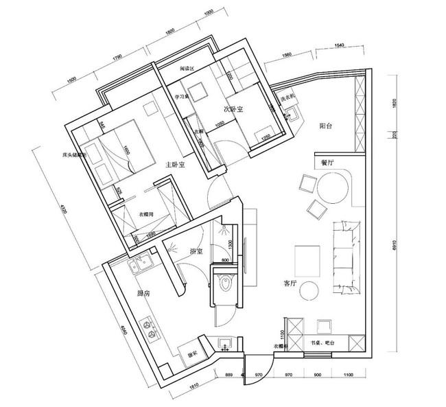 Căn hộ méo mó rộng 99m2 mất 1 năm rưỡi để cải tạo thành không gian vạn người mơ ước - Ảnh 2.