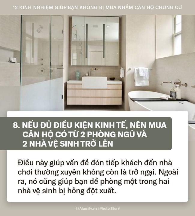 12 kinh nghiệm sống còn được truyền lại từ những người đi trước dành cho ai đang có ý định mua chung cư để căn hộ xứng đáng với số tiền bạn bỏ ra - Ảnh 8.