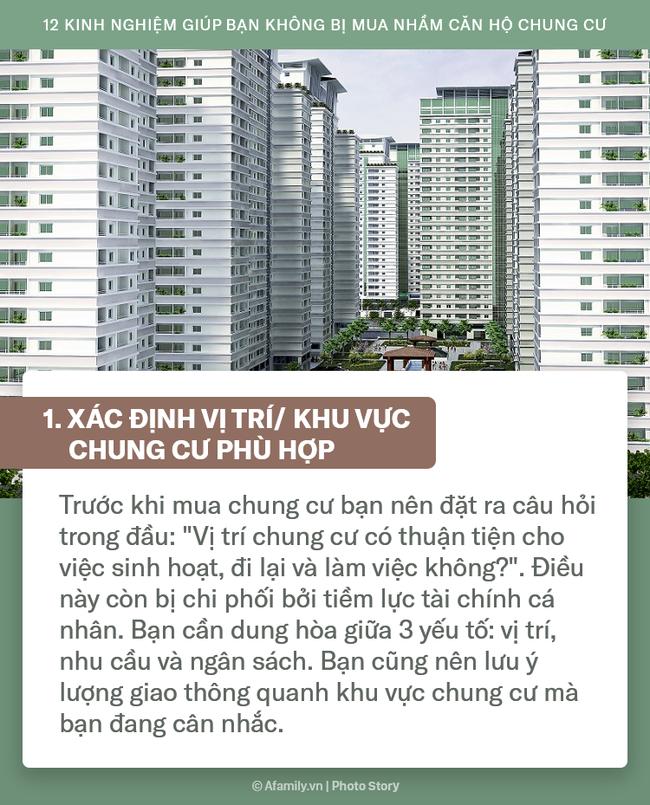12 kinh nghiệm sống còn được truyền lại từ những người đi trước dành cho ai đang có ý định mua chung cư để căn hộ xứng đáng với số tiền bạn bỏ ra - Ảnh 1.