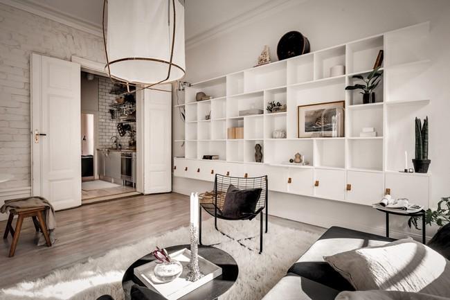 Bài trí nội thất tưởng đơn giản, ít ỏi, căn hộ nhỏ 44m2 ở Nga vẫn hiện lên vô cùng lộng lẫy - Ảnh 13.