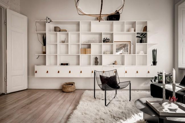 Bài trí nội thất tưởng đơn giản, ít ỏi, căn hộ nhỏ 44m2 ở Nga vẫn hiện lên vô cùng lộng lẫy - Ảnh 14.