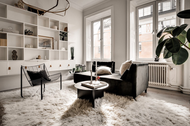 Bài trí nội thất tưởng đơn giản, ít ỏi, căn hộ nhỏ 44m2 ở Nga vẫn hiện lên vô cùng lộng lẫy - Ảnh 17.