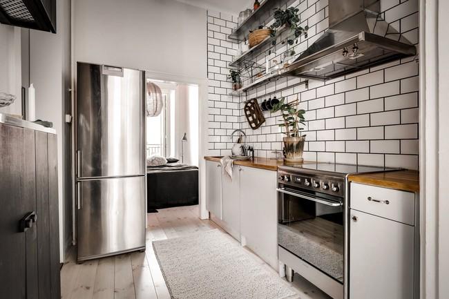 Bài trí nội thất tưởng đơn giản, ít ỏi, căn hộ nhỏ 44m2 ở Nga vẫn hiện lên vô cùng lộng lẫy - Ảnh 19.