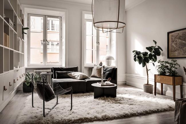 Bài trí nội thất tưởng đơn giản, ít ỏi, căn hộ nhỏ 44m2 ở Nga vẫn hiện lên vô cùng lộng lẫy - Ảnh 3.