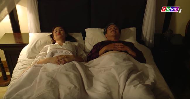 """""""Tiếng sét trong mưa"""": Hạnh Nhi ngủ với Khải Duy mà cứ nhớ đến con chồng nhưng vòng 1 căng đầy mới gây chú ý - Ảnh 1."""