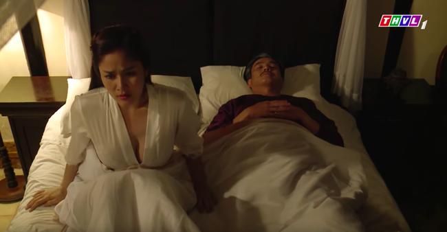 """""""Tiếng sét trong mưa"""": Hạnh Nhi ngủ với Khải Duy mà cứ nhớ đến con chồng nhưng vòng 1 căng đầy mới gây chú ý - Ảnh 4."""