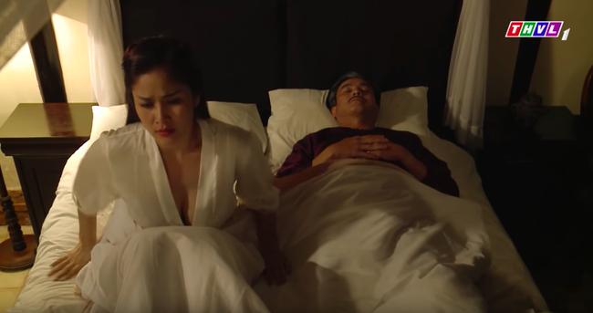 """""""Tiếng sét trong mưa"""": Hạnh Nhi ngủ với Khải Duy mà cứ nhớ đến con chồng nhưng vòng 1 căng đầy mới gây chú ý - Ảnh 5."""