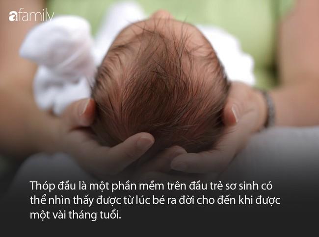 Thóp đầu mà trẻ sơ sinh nào cũng có và một số điều mà bà mẹ nào cũng cần phải biết - Ảnh 1.