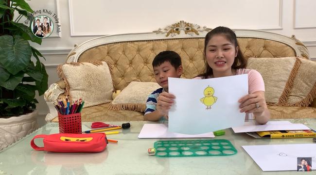 Hotmom Thủy Anh dạy con vẽ 10 loại động vật đơn giản, cha mẹ nào cũng có thể học theo! - Ảnh 4.