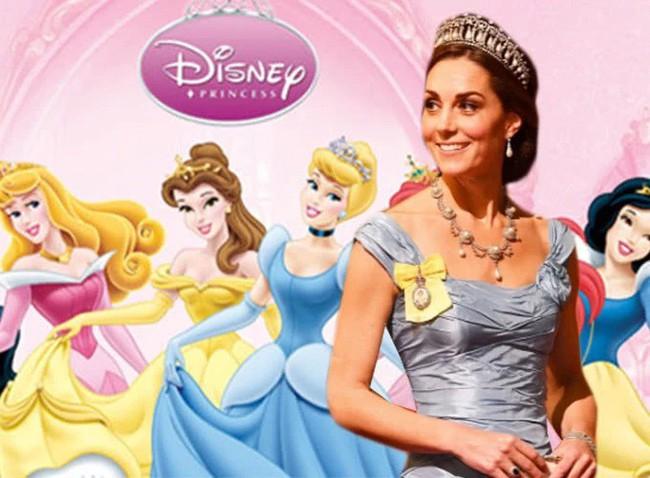 Công nương Kate nào có khác gì công chúa Disney đời thực với 3 lần lên đồ như bước ra từ hoạt hình - Ảnh 1.