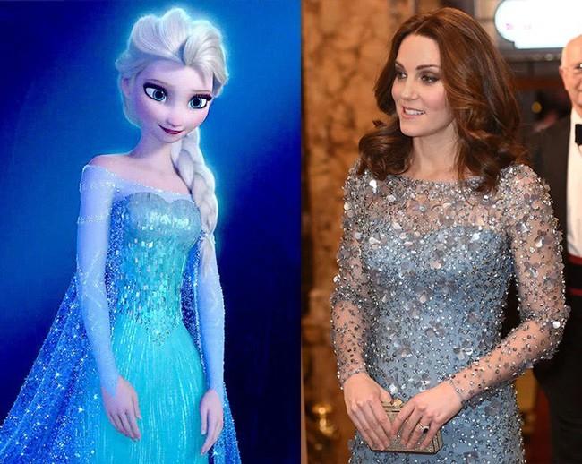 Công nương Kate nào có khác gì công chúa Disney đời thực với 3 lần lên đồ như bước ra từ hoạt hình - Ảnh 2.
