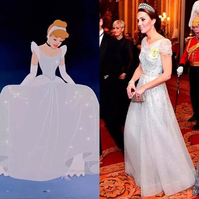 Công nương Kate nào có khác gì công chúa Disney đời thực với 3 lần lên đồ như bước ra từ hoạt hình - Ảnh 3.