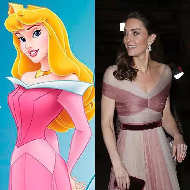 Công nương Kate nào có khác gì công chúa Disney đời thực với 3 lần lên đồ như bước ra từ hoạt hình - Ảnh 4.