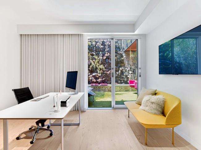 Các thiết kế phòng làm việc tại nhà dành riêng cho những ai theo lối sống tối giản - Ảnh 4.